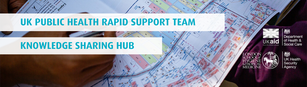 The UK Public Health Rapid Support Team Banner