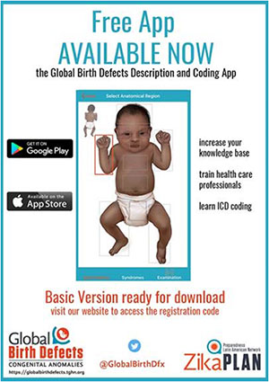 Global Birth Defects Description and Coding (GBDDC) app