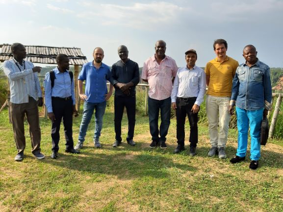 Team members from Republic of Congo, Tanzania, Italy and the UK