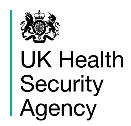 UK Health Secuirty Agency logo