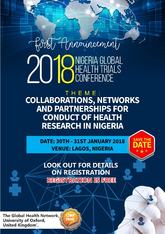discussion save the date 2018 nigeria global health trials
